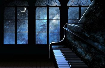 artistic-sky-night-piano-wallpaper-preview